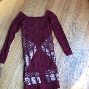 Bebe dress , worn once.